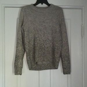 H&M sparkly soft sweater